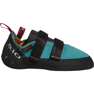 adidas Five Ten Anasazi LV Climbing Shoes Dam colaqu/core black/red colaqu/core black/red