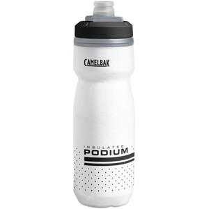 CamelBak Podium Chill Drikkeflaske 620 ml, hvid/sort hvid/sort