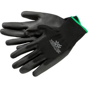 Finish Line gants d'atelier Taille S/M, noir noir