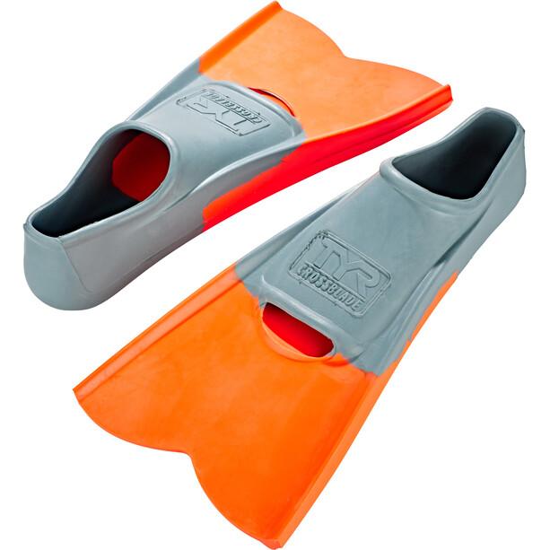 TYR Crossblade Fins XS yellow/orange