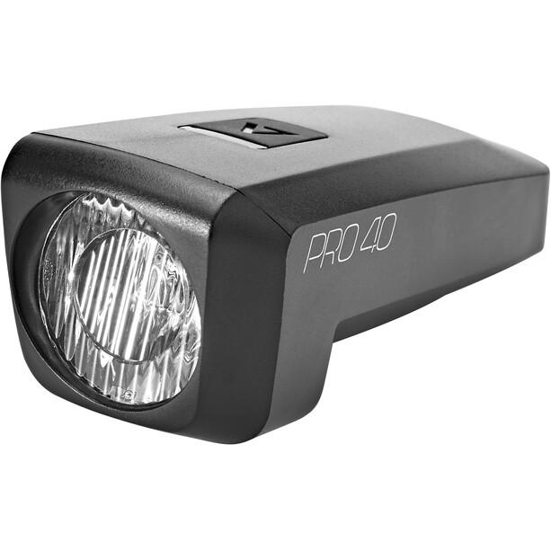 Cube ACID Pro 40 Etuvalo, musta