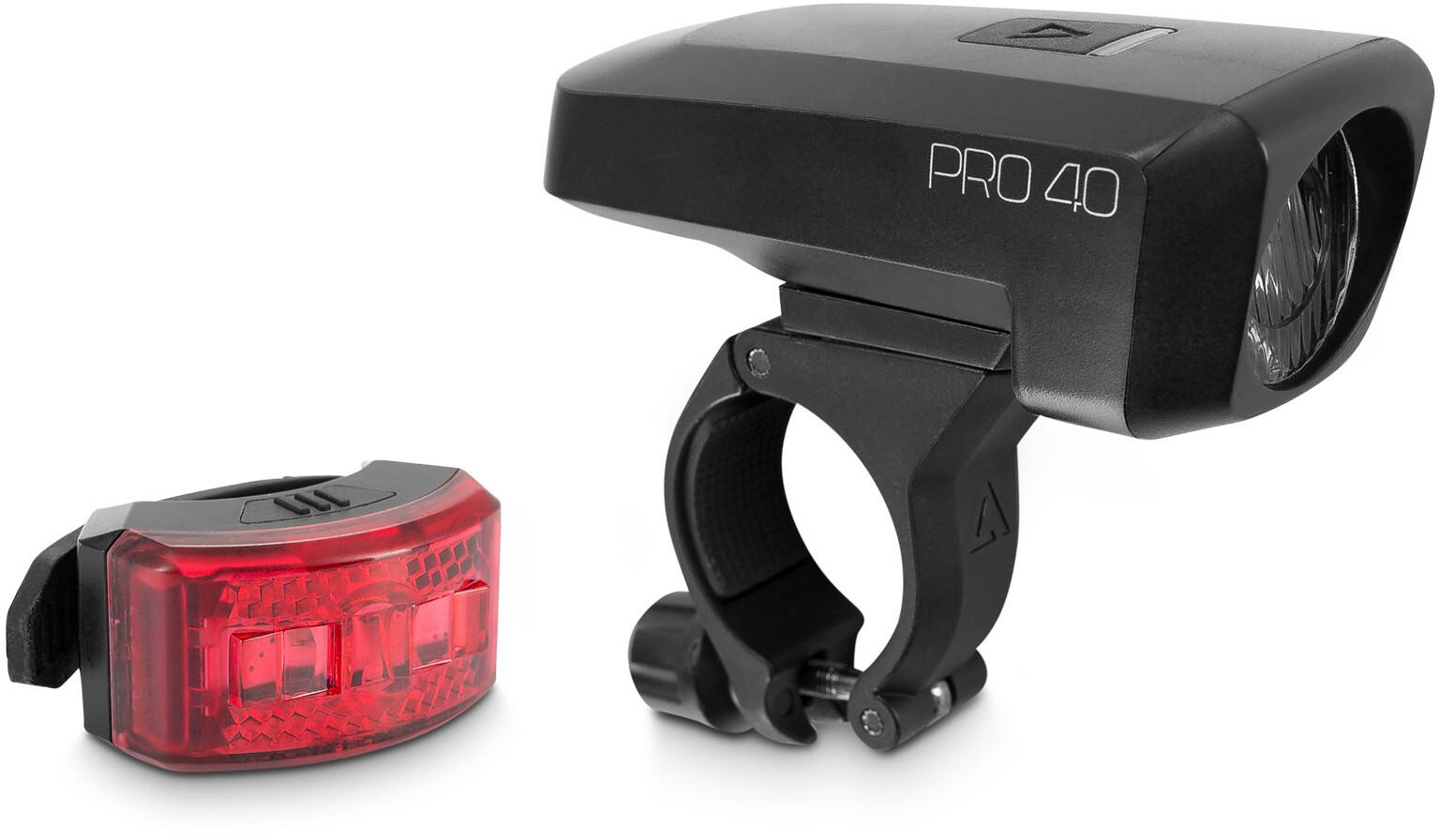 Cube ACID Pro 40 Beleuchtungs Set black