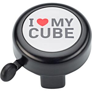 Cube  I love my Cube Bike Bell ブラック&ホワイト&レッド