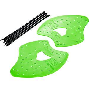 TYR Catalyst 2 Hand Paddles XS flou green flou green