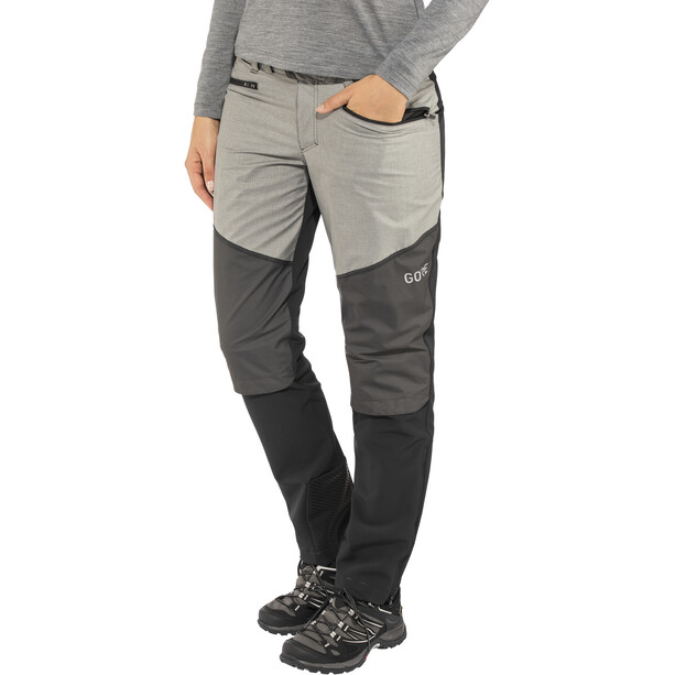 GORE WEAR H5 Women Gore Windstopper Hybrid Pants Dam black/terra grey