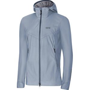 GORE WEAR H5 Women Gore Windstopper Insulated Hooded Jacket Dam cloudy blue/deep water blue cloudy blue/deep water blue