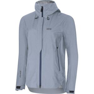 GORE WEAR H5 Women Gore-Tex Active Hooded Jacket Dam cloudy blue/deep water blue cloudy blue/deep water blue