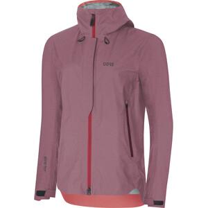GORE WEAR H5 Women Gore-Tex Active Hooded Jacket Dam chestnut red/hibiscus pink chestnut red/hibiscus pink