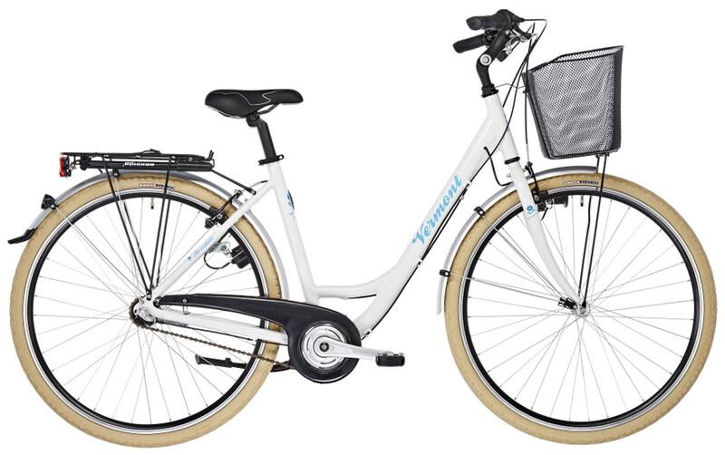 """Vermont Rosedale 3s Damen weiß glanz 50cm (28"""") 2019 Cityräder, Gr. 50cm (28"""")"""
