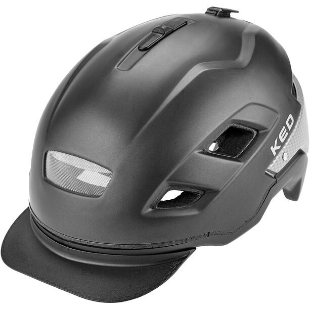 KED Berlin Helm black matt