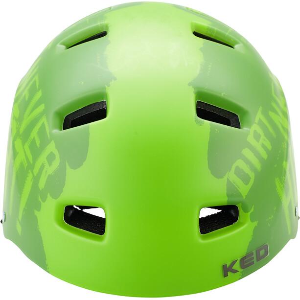 KED 5Forty Helm Kinder dirt green