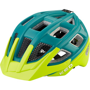 KED Kailu Helm Kinder petrol green matt petrol green matt