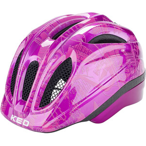 KED Meggy II Trend Helm Kinder violet pink violet pink