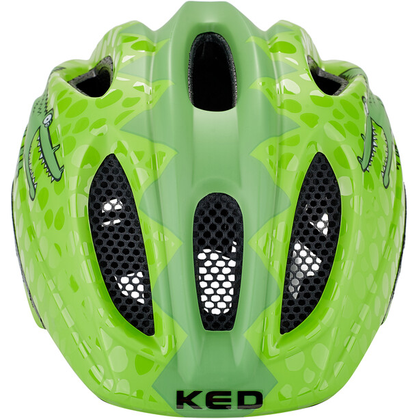 KED Meggy II Trend Casque Enfant, green croco