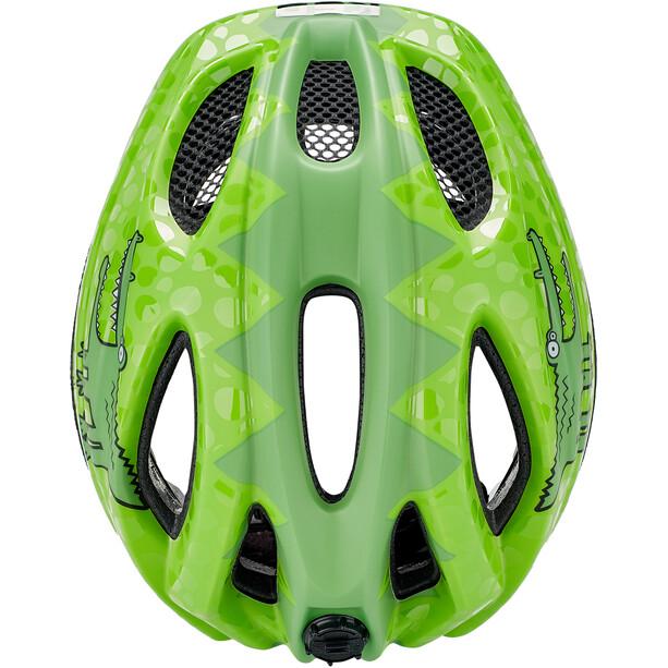 KED Meggy II Trend Helm Kinder green croco