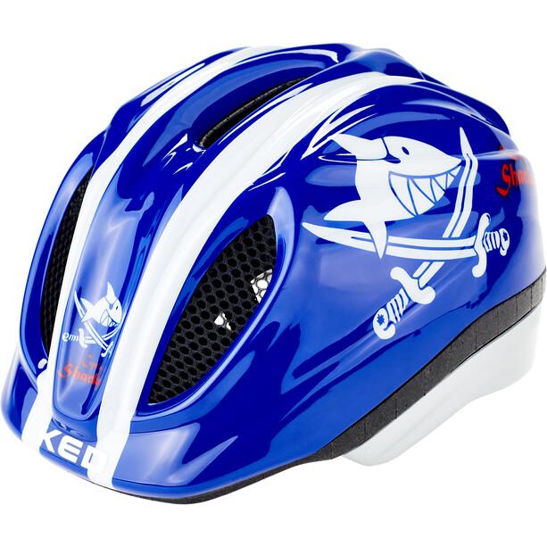 KED Meggy Originals Helm Kinder sharky blue