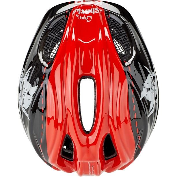 KED Meggy Originals Helm Kinder sharky red
