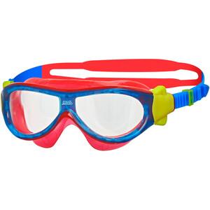 Zoggs Phantom Mask Lapset, punainen/sininen punainen/sininen