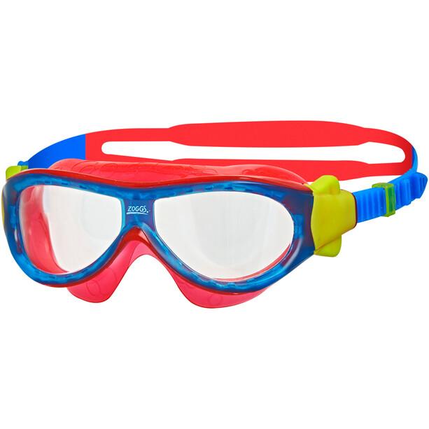 Zoggs Phantom Maske Kinder rot/blau