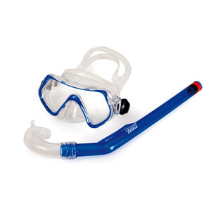 Zoggs Reef Expl**** Snorkel Set Kinder blue/clear blue/clear
