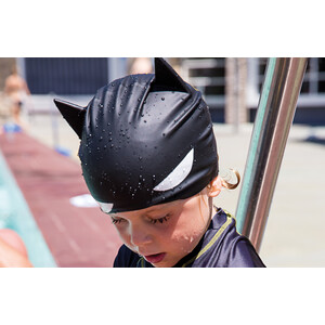 Zoggs Batman 3D Silikon Badekappe Kinder