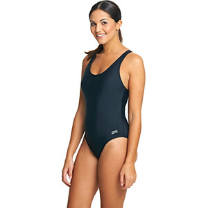 Zoggs Coogee Sonicback Swimsuit Dame black black