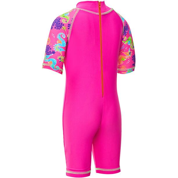 Zoggs Sea Unicorn Sonnenschutz-Anzug Mädchen pink