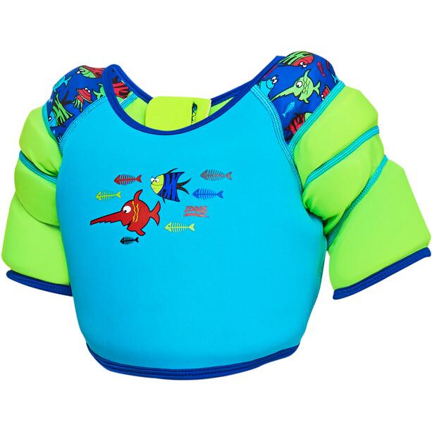 Zoggs Sea Saw Schwimmflügel-Weste Kinder blue