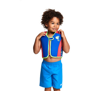 Zoggs Sea Saw Swim Jacket Pojkar blue blue