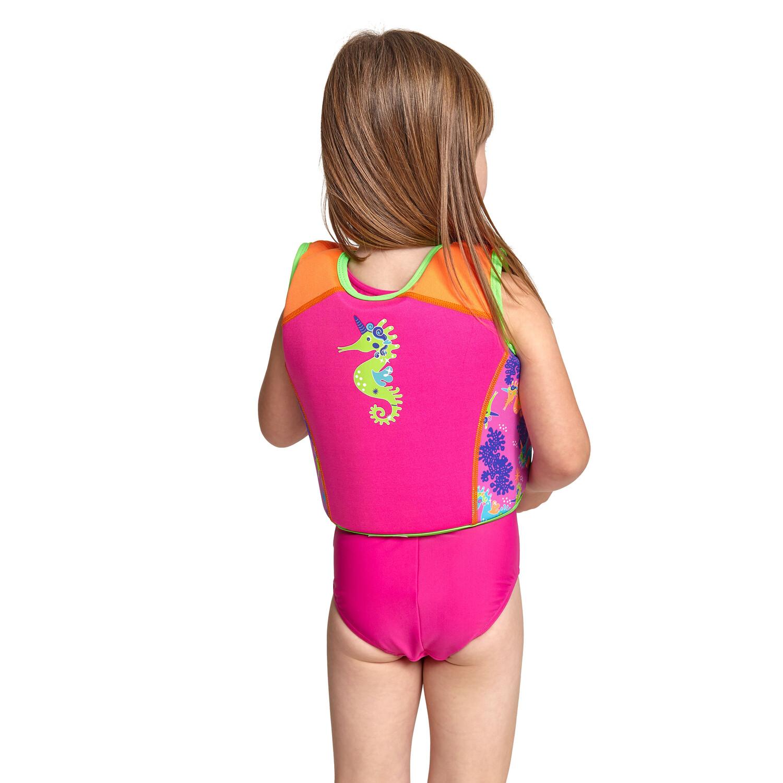 Zoggs Sea Unicorn Schwimm-Jacke Mädchen pink
