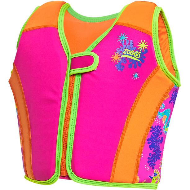 Zoggs Sea Unicorn Gilet de natation Fille, pink