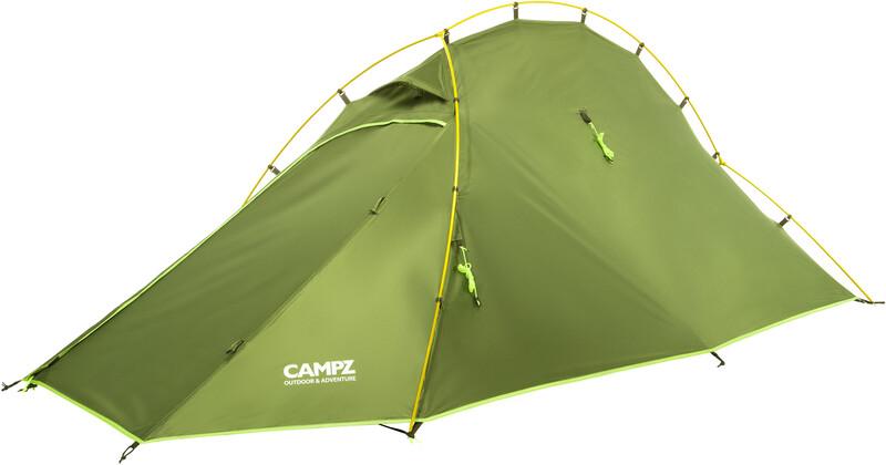 CAMPZ Vira 2P Zelt grün/olive Tunnelzelte CAMPZ-T-21
