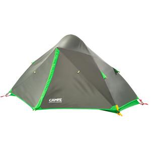 CAMPZ Tignes 1P Tente, gris/vert gris/vert