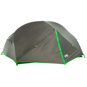CAMPZ Lacanau 2P Zelt dunkelgrau/grün dunkelgrau/grün