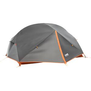 CAMPZ Lacanau 2P Teltta, deep grey/orange deep grey/orange