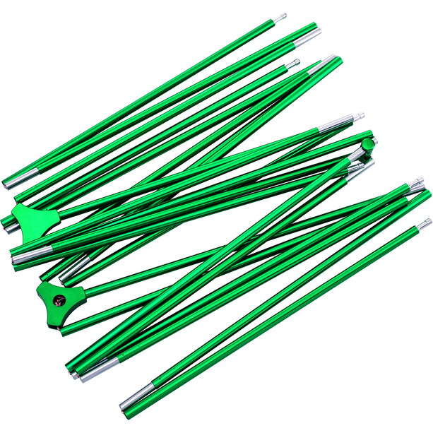 CAMPZ Lacanau 3P Zelt dunkelgrau/grün