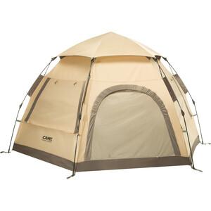 CAMPZ Hexa OT 3P Teltta, beige/harmaa beige/harmaa