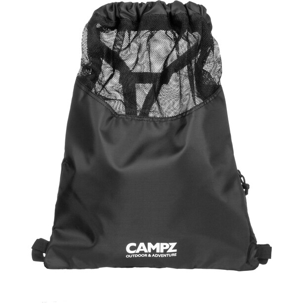 CAMPZ Gymbag Sportbeutel schwarz