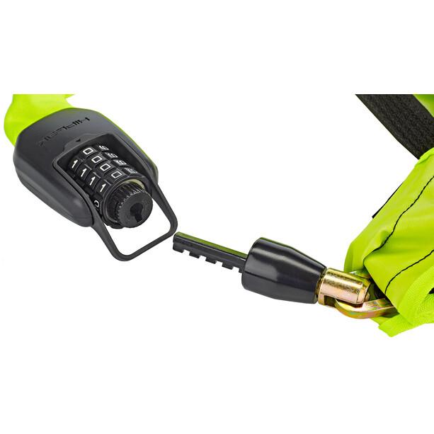 Hiplok Spin Kettenschloss 6mm neon yellow