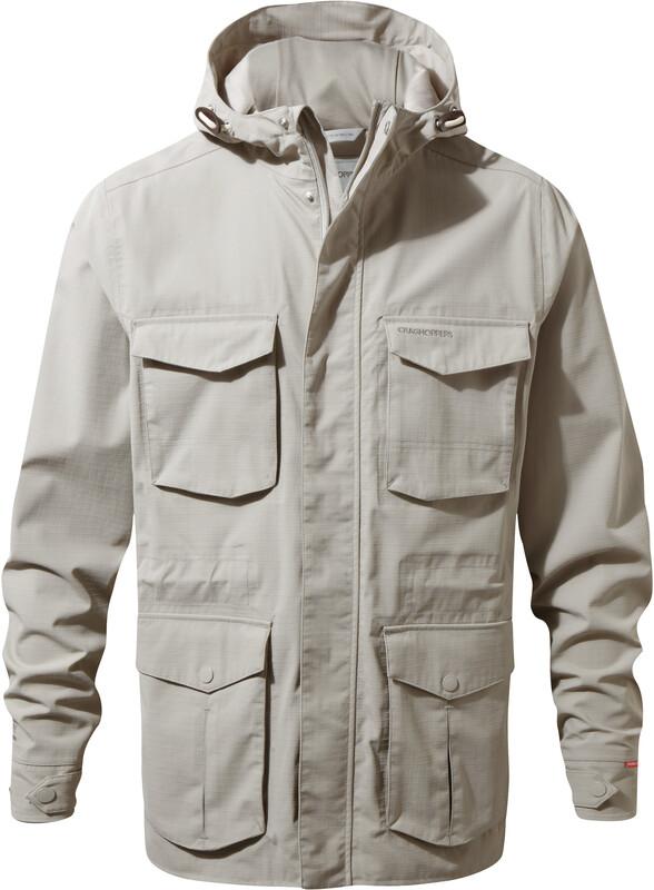 Craghoppers NosiLife Forester Jacket Men Parchment M 2018 Regenjacken, Gr. M