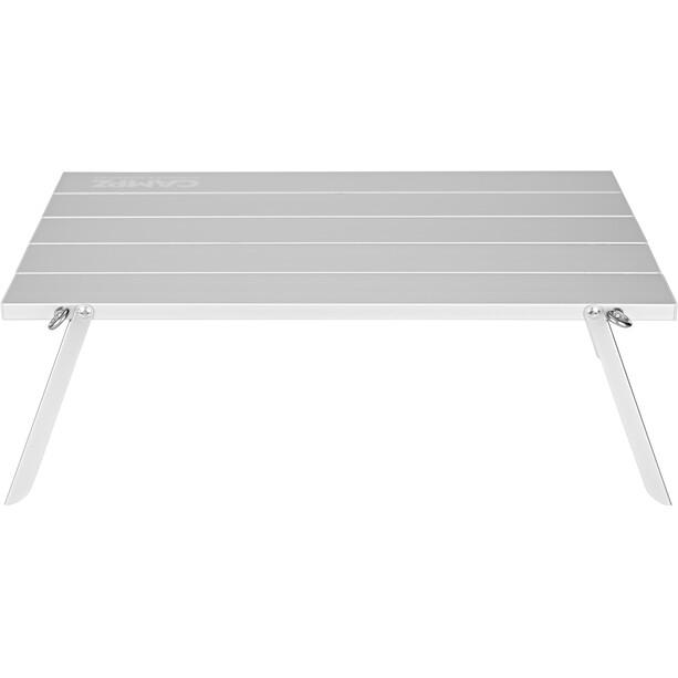 CAMPZ Mini Falttisch 44x29x15cm silber