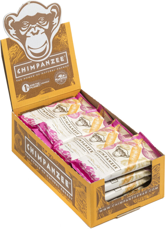 Chimpanzee Energy Bar Box Vegan Rote Beete & Karotte 20 x 55g  2019 Sportnahrung