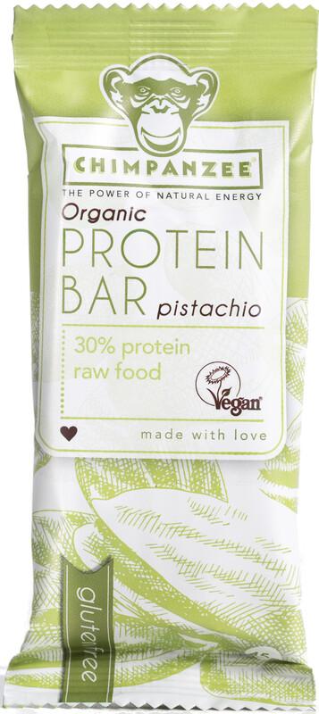 Chimpanzee Organic Protein Bar Box Vegan Pistazie 25 x 45g  2019 Sportnahrung