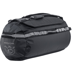 addnature Duffelilaukku 35l, musta/harmaa musta/harmaa