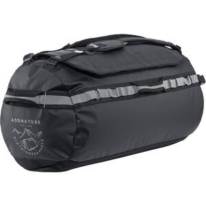 addnature Duffel Bag 65l, negro/gris negro/gris