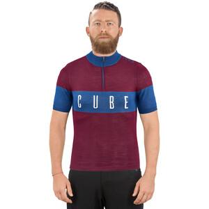 Cube Classic Merino Jersey Herre rød/blå rød/blå