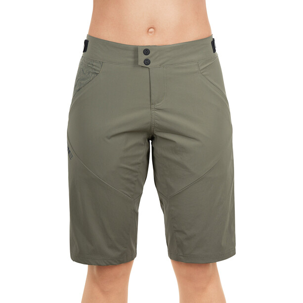 Cube AM Baggy shorts Dame oliven