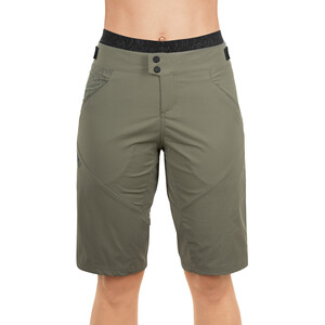 Cube AM Baggy Shorts inklusive Innenhose Damen olive olive