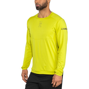 Cube AM Round Neck Jersey longsleeve Herre citrone citrone