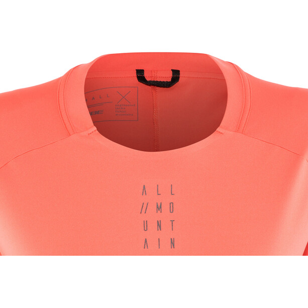 Cube AM Round Neck Jersey longsleeve Dam coral